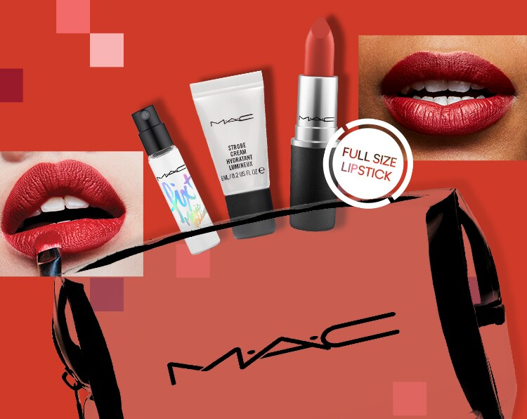 box MAC Cosmetics Makeup Lipstick