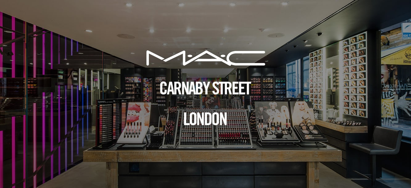 Book now for make up services at Carnaby London.