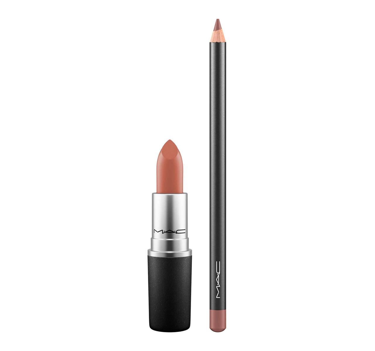 abbastanza Nude Lipstick + Lip Pencil Kit   MAC Cosmetics - Official Site OV02